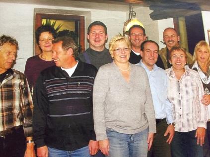 """Foto """"Die Gründung im Bergischen Hof im Herbst 2009"""""""
